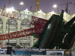 Mecca crane collapse: 107 dead at Masjidil Haram