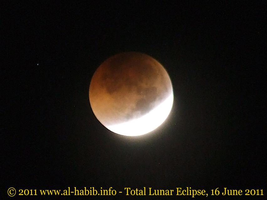 Foto Gerhana Bulan Total 16 Juni 2011 Blog Alhabib