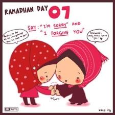 Contoh Gambar Karikatur Ramadhan