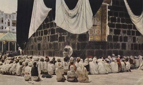 Ka'bah di Mekah pada tahun 1920