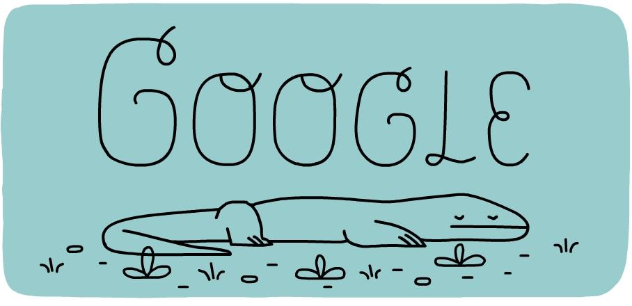 Doodle Google Memperingati 37 Tahun Taman Nasional Komodo Blog Alhabib