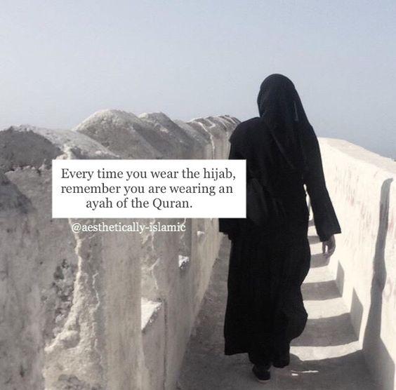 hijabquoteswearingayahquranbyaestheticallyislamic