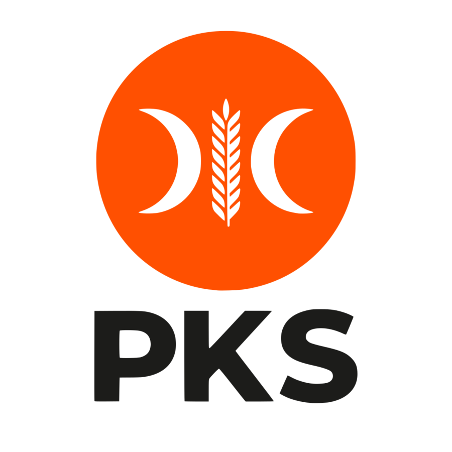 Logo baru PKS 2020 - Bulat Oranye Vector PNG